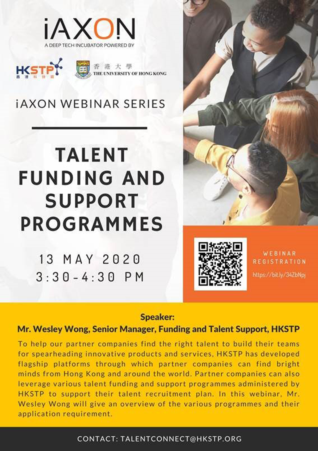 20200513_iAXON Webinar Series Talent Funding and Support Programmes
