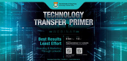 Tech Transfer Primer - Best Results Least Effort