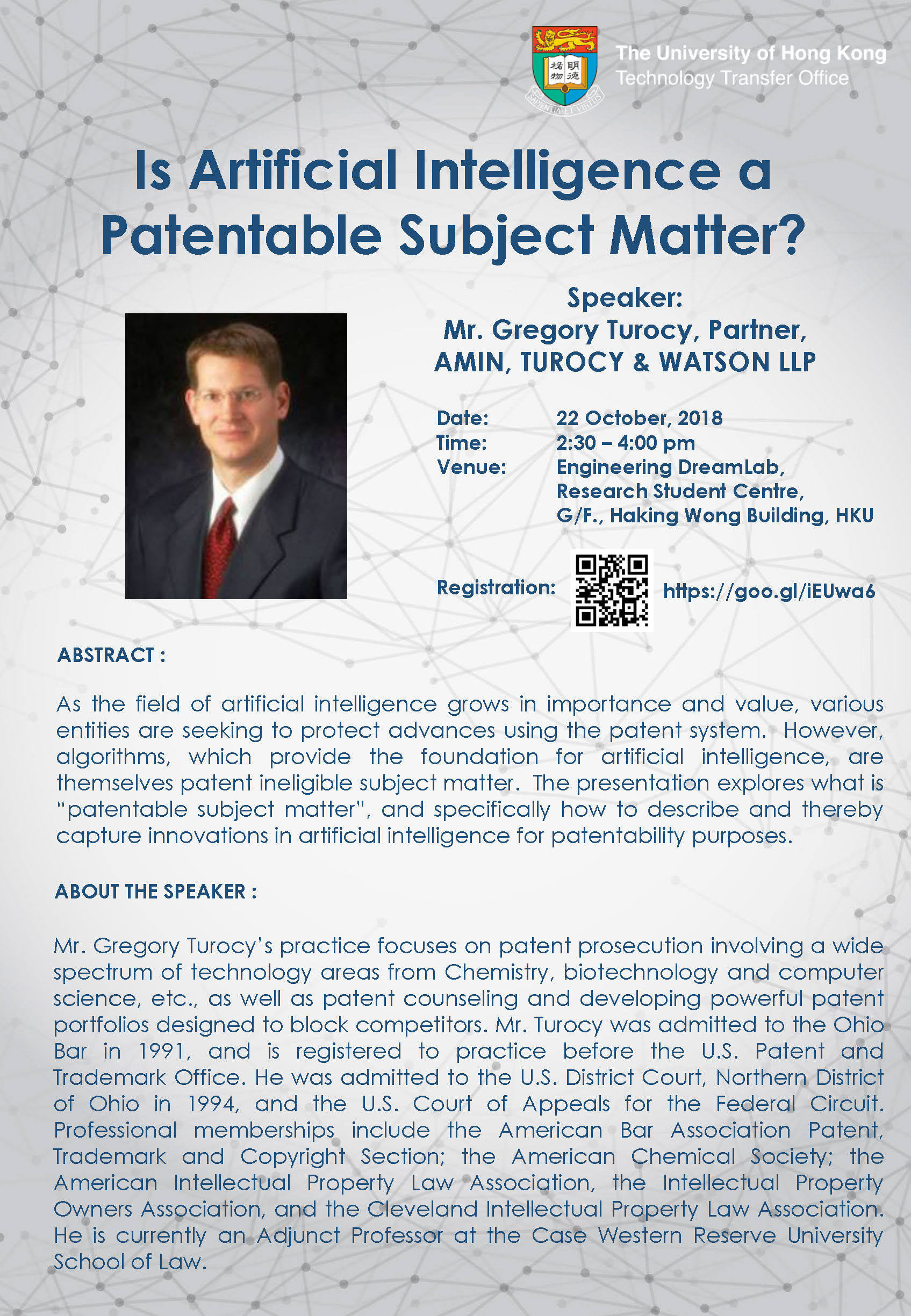 Is Artificial Intelligence A Patentable Subject Matter