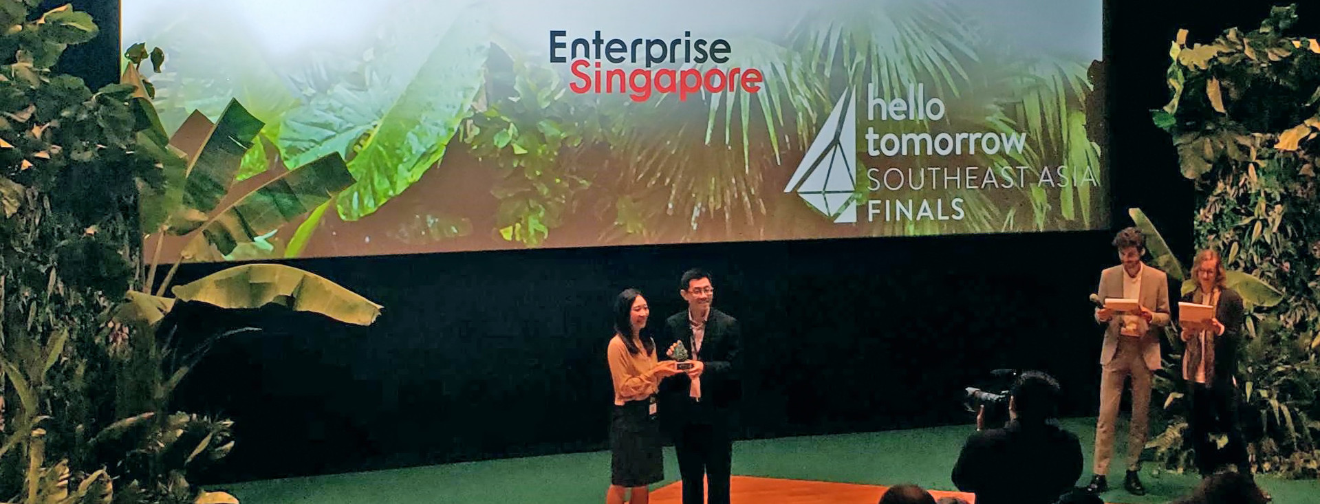 HKU start-up wins top prize at Inaugural Hello Tomorrow Singapore Regional Summit