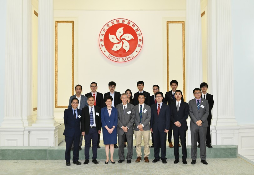 Hong Kong Government Officials celebrate winners in renowned regional and international competitions on innovation and technology, including the HKU Teams gallery photo 1