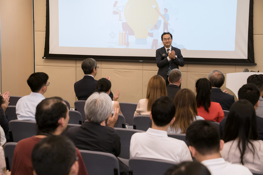 25 HKU start-up companies receive funding from TSSSU@HKU and iDendron Incubation Programme launches gallery photo 13