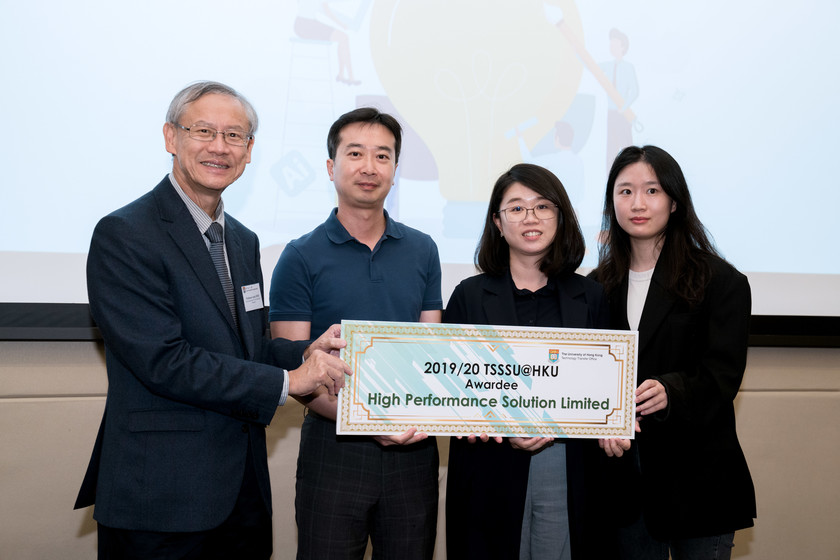 25 HKU start-up companies receive funding from TSSSU@HKU and iDendron Incubation Programme launches gallery photo 22