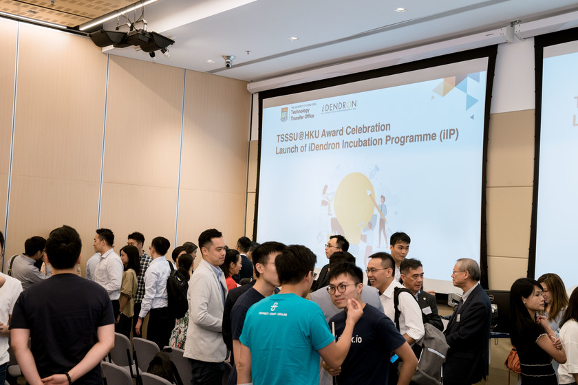 25 HKU start-up companies receive funding from TSSSU@HKU and iDendron Incubation Programme launches gallery photo 42