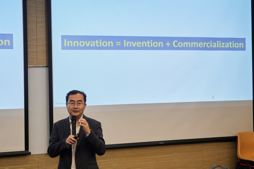 Seminar on Innovation and Entrepreneurship in HKU gallery photo 1
