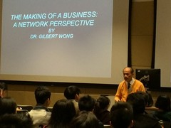Entrepreneurship Academy 2016 - The Making of a business: A network perspective